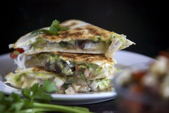 Lump Crab and Avocado Quesadilla | Flavorful | Pinterest
