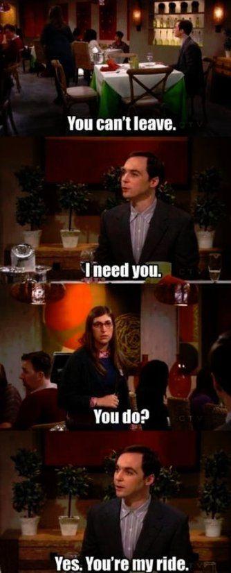 Only Sheldon..