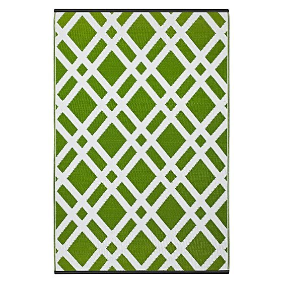 Dublin Plastic Outdoor Rug by FAB Rugs