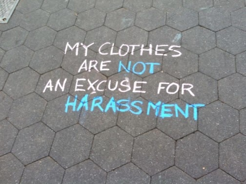 My clothes are NOT an excuse for street harassment