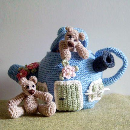 Amigurumi Crochet Teapot Pattern : AMIGURUMI CROCHET TEAPOT PATTERN Crochet Patterns Only