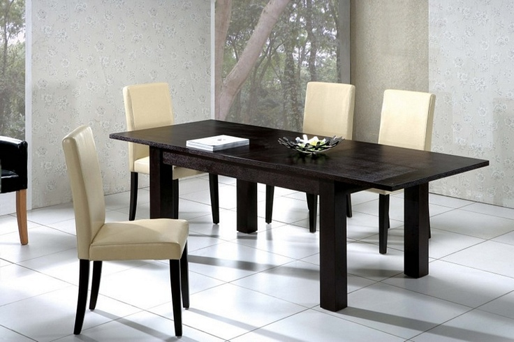 madison extending table wenge or oak