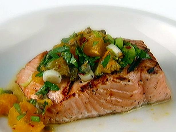 Grilled Salmon with Herb and Meyer Lemon Compound Butter | Recipe