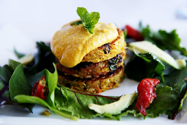 II Moroccan Quinoa Cakes II | A little cleaner. | Pinterest