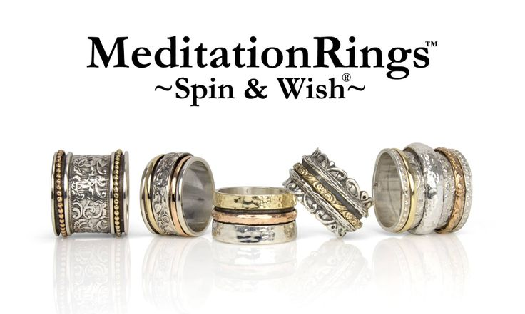 Spin And Wish Meditation Rings