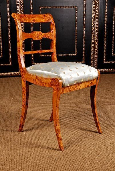 Biedermeier side chair circa 1825 furniture pinterest for Furniture 1825