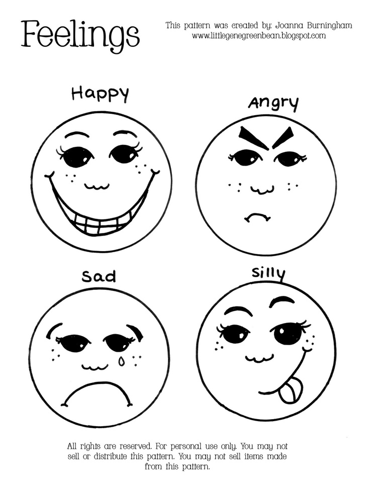Ambitious image inside free printable emotion faces