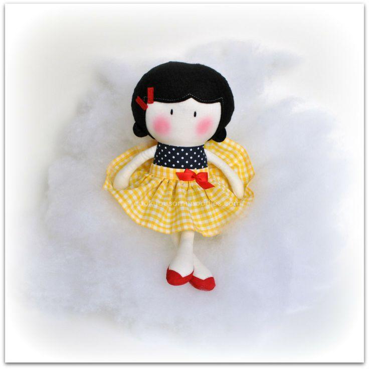 """Мой Тини-Крошечный Кукла ® Неве / 11 """"ручной Fashion Doll Куком вас Некоторые Лапша"""