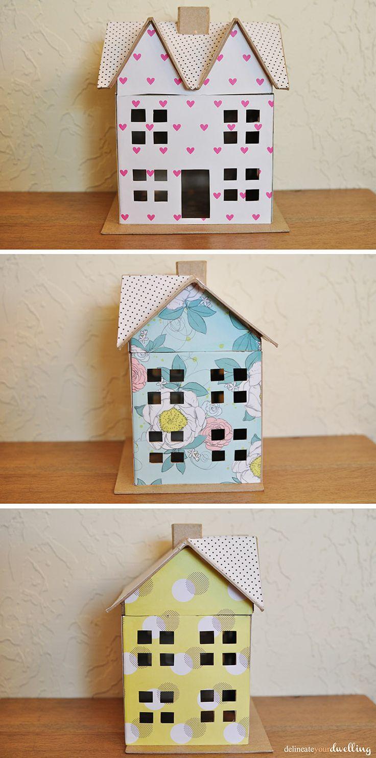 Scrapbook paper dollhouse wallpaper - Delineate Your Dwelling Scrapbook Paper Doll House