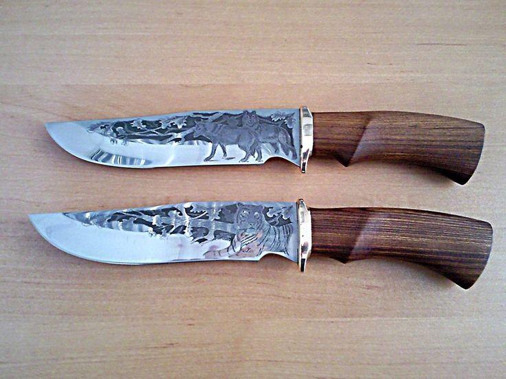 Как сделать рисунок на ноже