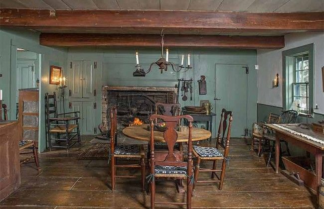 Millbrook New York Historic Tavern House Colonial Rooms