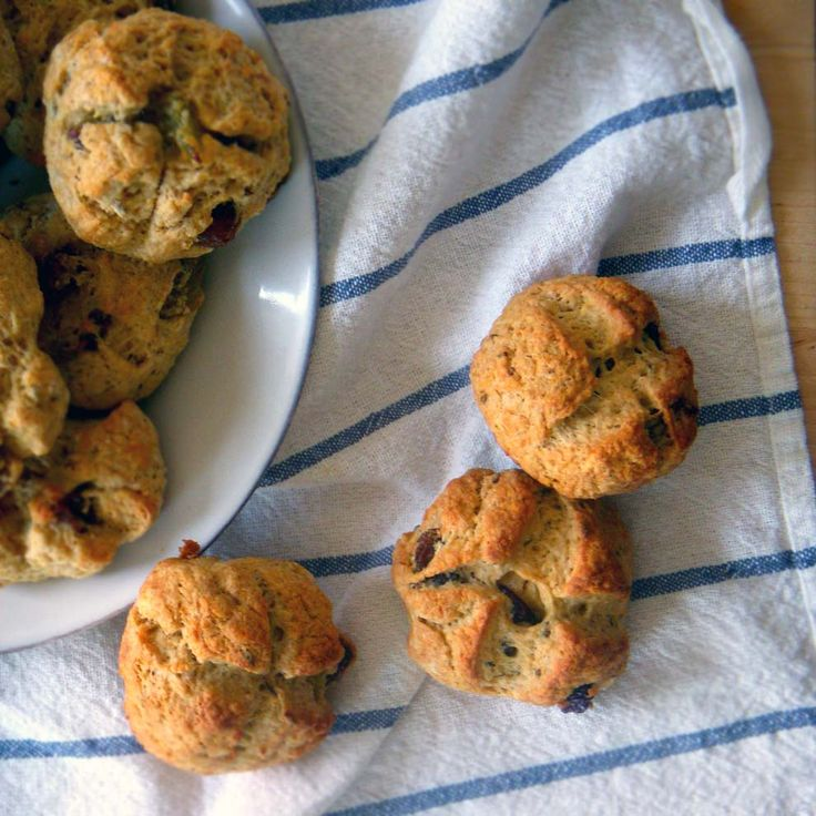 Irish soda bread scones (with a twist!) made with whole wheat flour ...