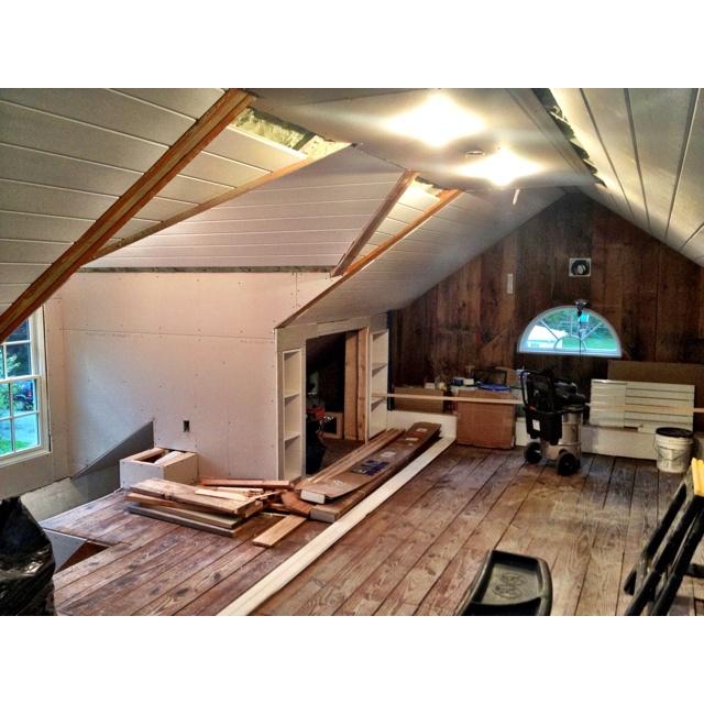attic redo ideas - Attic redo attic