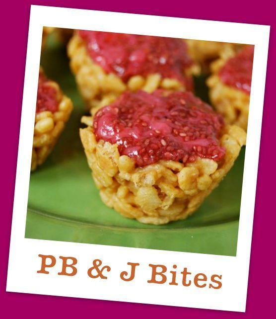 PB & J Bites via @The Lean Green Bean <--need to make stat!