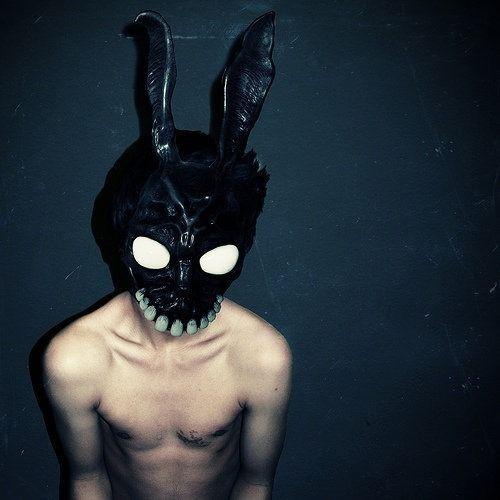 Donnie Darko rabbit mask. AWESOME.   Masks   Pinterest