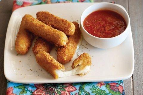 ... this: mozzarella sticks , baked mozzarella sticks and mozzarella
