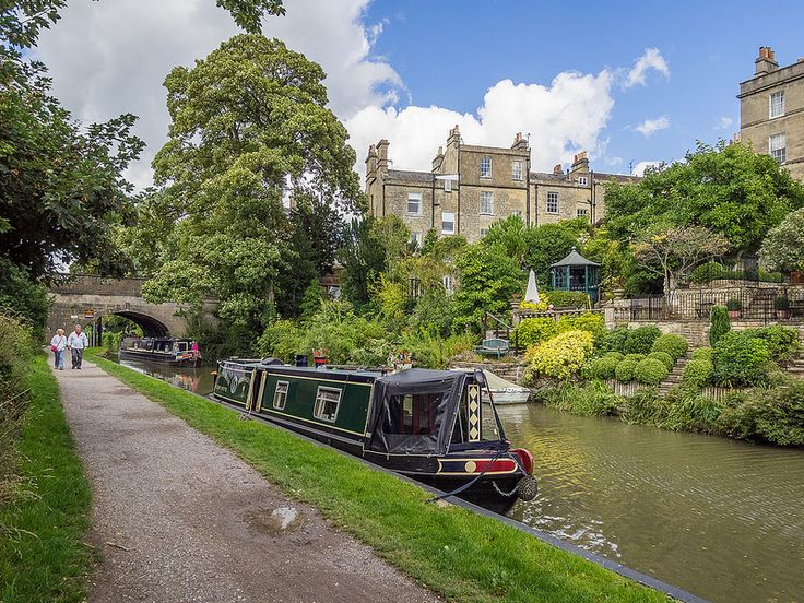 Kennet and Avon Canal - Bath: pinterest.com/pin/316377942546475298