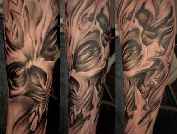 paul booth tattoo skulls pinterest. Black Bedroom Furniture Sets. Home Design Ideas