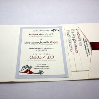 Pocketfold Wedding Invitation Instructablescom
