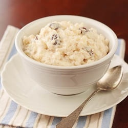 Rice Pudding. No oven required- creamy Stovetop Rice Pudding! #Food # ...