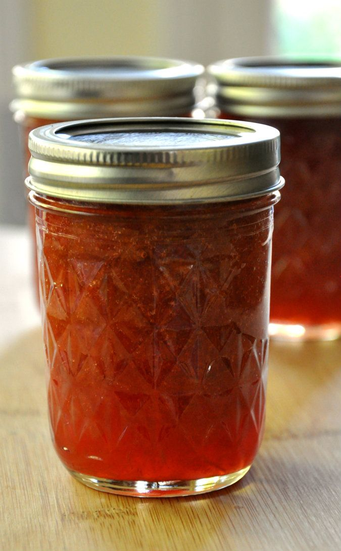 Rhubarb Orange Ginger Jam   Canning & Preserving   Pinterest