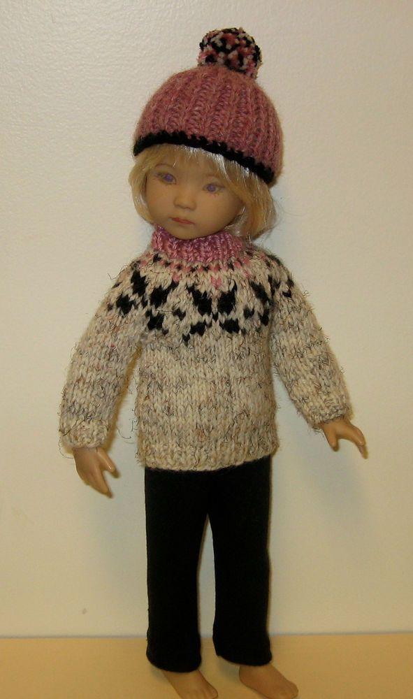 Knitting Pattern Reversible Doll : for Dianna Effner 13