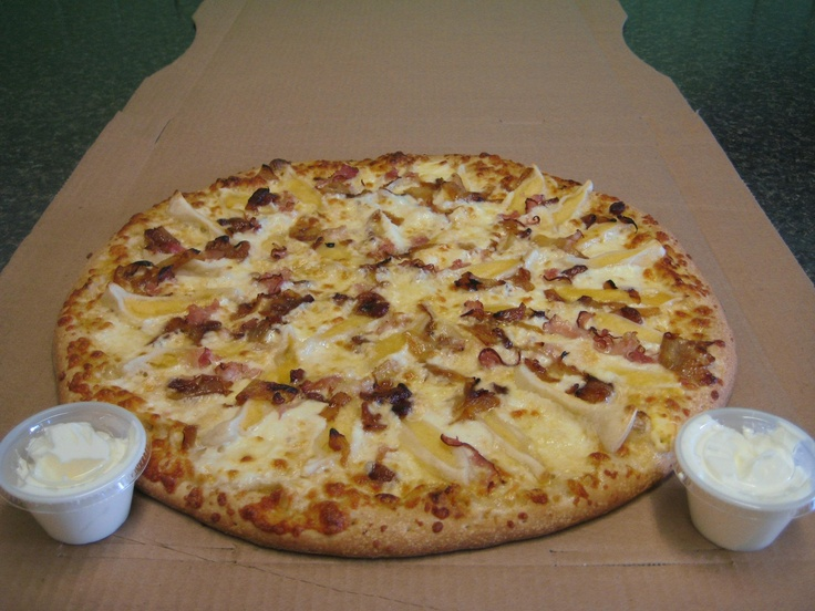 Perogy Pizza from Eat Local Pizza in Thunder Bay, ON