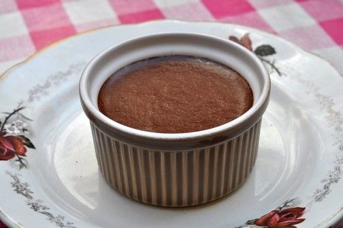 Baked Chocolate Cinnamon Pudding | Dukan Do It | Pinterest