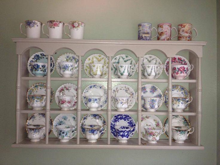 Tea Cup Rack Royal Albert Beauties To Love Pinterest