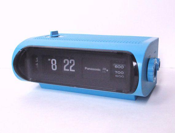 Panasonic Flip Clock Radio