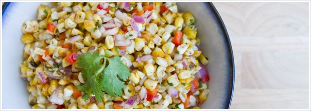 Roasted Corn Salsa | Check and organize these | Pinterest