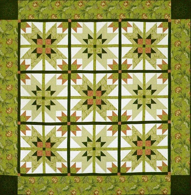 Block of the Month Patterns - Come Quilt