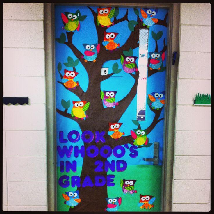 Owl Classroom Door Decorations ~ Owl door classroom ideas pinterest