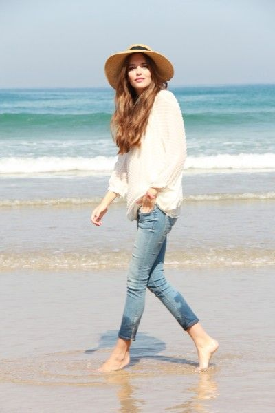 perfect outfit for a stroll on the beach