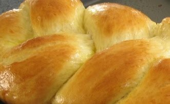 Armenian Easter Bread-Choereg (no sesame seeds) with mahlab - so sweet ...