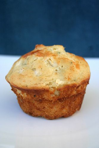 Apple, Gruyère and Sage Muffins (Gluten-Free)