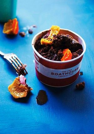 Macaron honeycomb with chocolate granita www.theothercrumb.blogspot ...