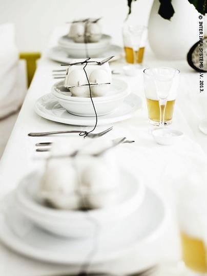 Tables de Pâques chez IKEA Belgique  IKEA decoration  Pinterest