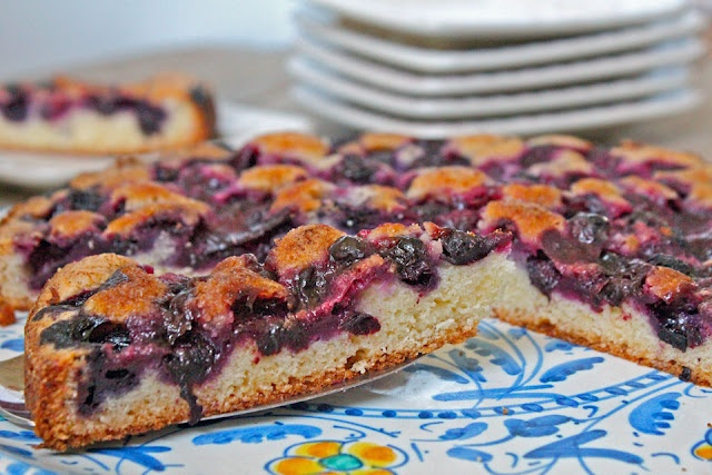 Blueberry Nutmeg Cake @Ann Flanigan Mc | Cakes | Pinterest
