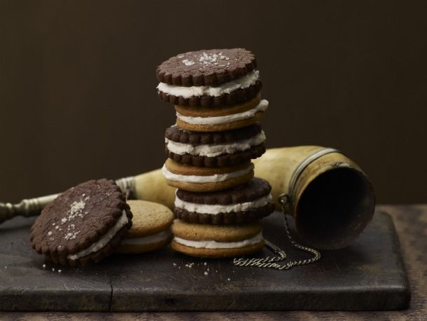 Salt-N-Pepper Sandwich Cookies - what I'm making next