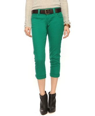 Low-Rise Skinny Pants w/Belt from XXI  $24.80