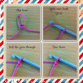 Crocheting Lessons : Daydreamers crochet lesson-No 1 DIY Pinterest