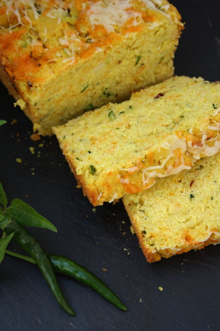 Zucchini Cornbread | Dishes to try | Pinterest