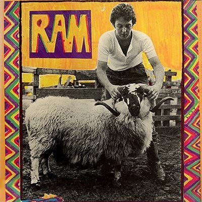 paul amp linda mccartney ram album covers from my mispent
