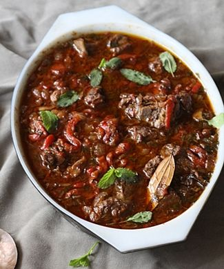 Basque Lamb Stew | Foodies say Nom Nom | Pinterest