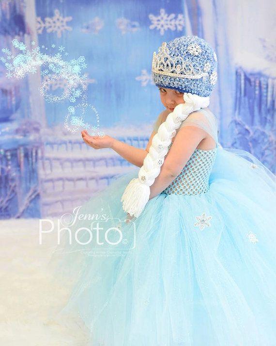 Snow Princess Photo Prop