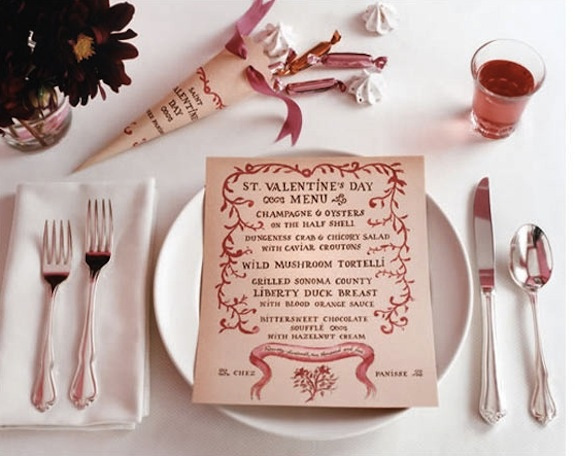 valentines day food menu ideas