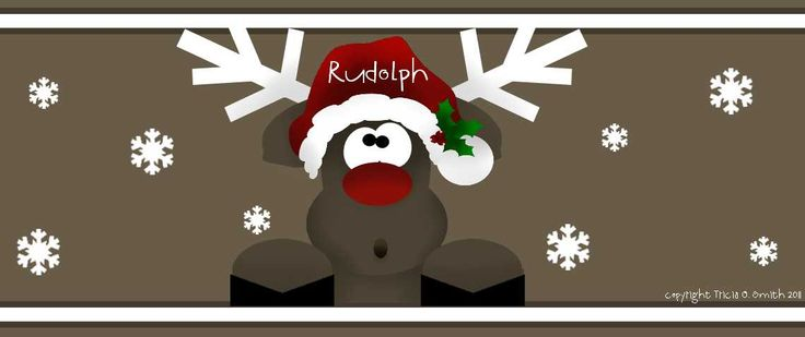 Pin the Nose on Rudolph game | Christmas Party Ideas | Pinterest