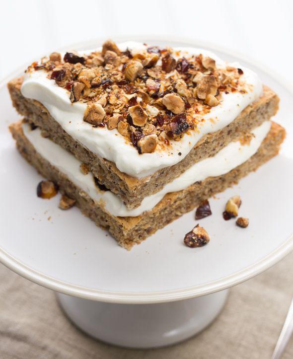 brown butter hazelnut cake with praline | Food & Bev | Pinterest