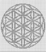Crochet Flower Of Life Pattern : FLOWER OF LIFE CROCHET AFGHAN PATTERN Crochet Pinterest
